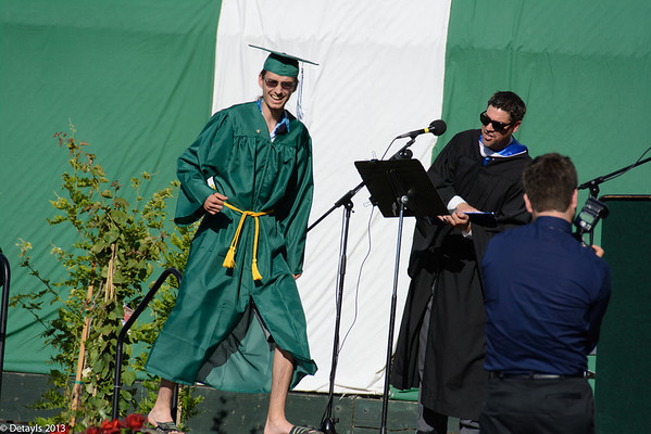 Alex Lang's High School Graduation in June 2013