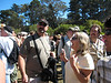 The Summer of Love 40 Years On in Golden Gate Park in August 2007 : David and JoLynn went for a bike ride with Mitchell and Helen and finished up in Golden Gate Park at the Summer of Love 40 Years On celebration.