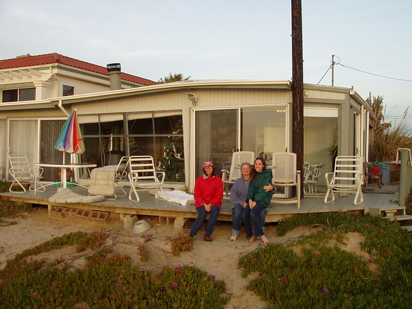 A New Year's Vacation at Pismo Beach in January 2003