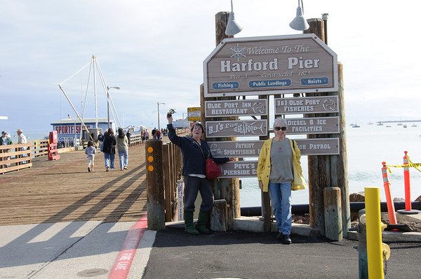 Harford Pier at Avila Beach Pier in January 2009