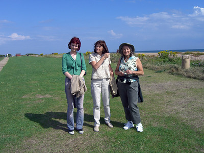 A walk and a beer on the Sea Front, Rustington 2005