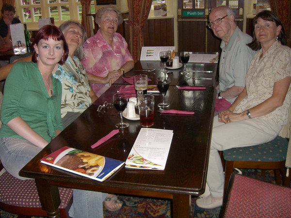 Pub Grub in Rustington in July 2005