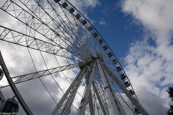 Ferris Wheel in York in September 2013