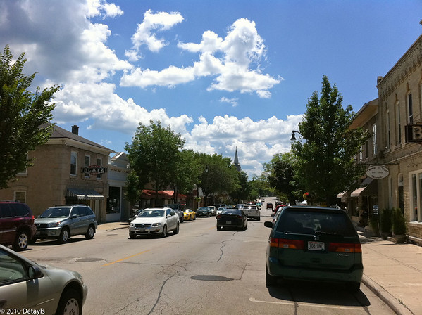 Cedarburg, Wisconsin in July 2010