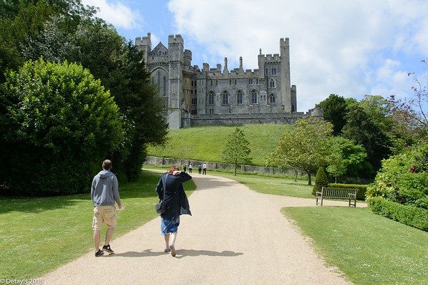 A visit to the Castle at Arundel in Sussex in June 2015