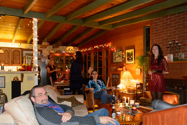 Christmas Eve with the Clancys in 2014
